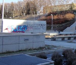 Political Graffiti at my University